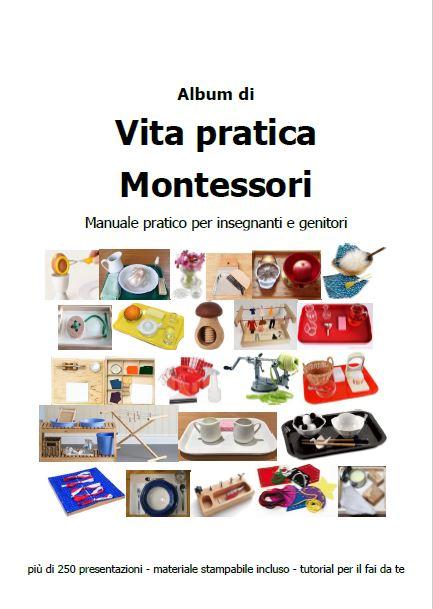 album di vita pratica Montessori